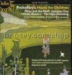 Peter & The Wolf Op 67/Summer Day/Winter Bonfire Op 122/Ugly Duckling Op 18 (Hyperion Audio CD)