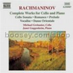 Music For Piano & Cello (Naxos Audio CD)