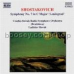 Symphony No.7 in C major Op 60 'Leningrad' (Naxos Audio CD) (Slovak Orchestra)