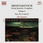 String Quartets Nos. 10, 11 & 13 (Naxos Audio CD)