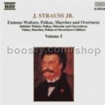 Waltzes/Polkas/Marches & Overtures vol.5 (Naxos Audio CD)