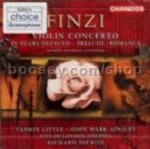 Violin Concerto/Prelude/Romance/In Years Defaced (Chandos audio CD)
