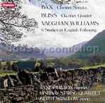 Studies (6) In English Folksong and other works for clarinet (Chandos Audio CD)