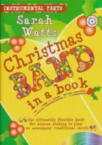 Christmas Band In A Book Instrumental Parts/cd