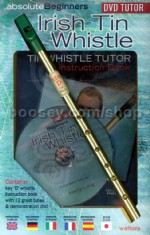 Absolute Beginners Irish Tin Whistle (Book & DVD)