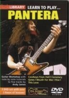 Learn To Play . . . Pantera (Lick Library series) DVD