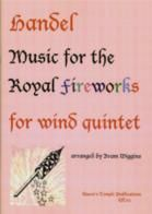 Music For The Royal Fireworks wind Quintet