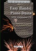Easy Handel Piano Duets (Book & CD)