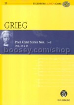 Peer Gynt Suites 1 & 2 (Book & CD) (Eulenburg Audio+Score Series)