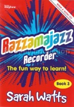 Razzamajazz Recorder Book 3 (Book & CD)