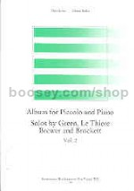 Album for Piccolo & Piano, Vol. 2