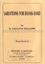Variations For Brass Band (Set of Parts)