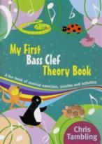 My First Bass Clef Theory Book