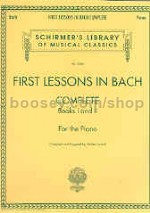 First Lessons In Bach complete piano