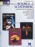 Pro Vocal 18 Musicals Of Boublil/Schonberg (for male voices)