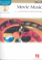 Movie Music Instrumental Playalong Cello Book & CD