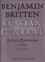 Russian Funeral for 11 Part Brass Ensemble Set of Parts