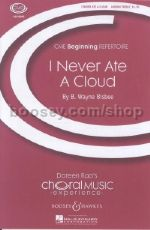 I Never Ate A Cloud - choral unison & piano