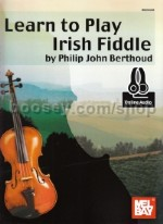 Learn To Play Irish Fiddle Bk/2 CDs