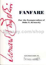 Fanfare - symphonic band score & parts