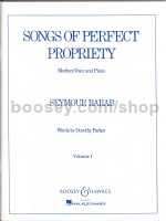 Songs of Perfect Propriety volume one