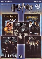 Harry Potter Instrumental (movies 1-5) Alto Sax