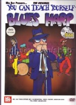 You Can Teach Yourself Blues Harp (Book & CD/DVD)