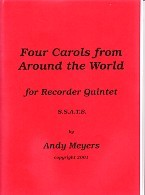 Four Carols From Around The World SSATB