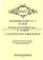 Piano Concerto No.1 in Eb major (2 pianos 4 hands)