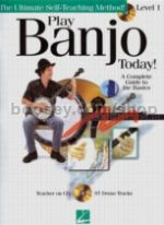 Play Banjo Today Level 1 (Book & CD)