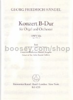 Concerto For Organ Op. 7/ 1 In B-flat