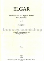 Enigma Variations Op 36 - viola part (urtext)