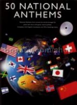 50 National Anthems (Book & CD)