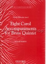 8 Carols From C For C Brass Quintet