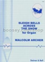 Sleigh Bells Across The Snow organ