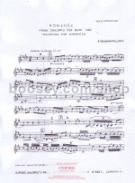 Romanza from Concerto for Tuba (Euphonium part)