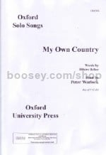 My Own Country (key: F)