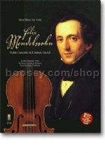 Violin Concerto in E minor Op 64 (Music Minus One with CD Play-along)
