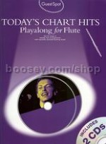 Guest Spot: Today's Chart Hits - Flute (Bk & CD)
