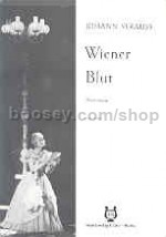 Wiener Blut Vocal Score