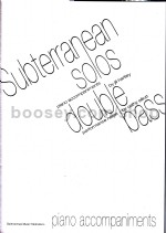 Subterranean Solos for Double Bass (piano accompaniment)