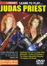 Learn To Play Judas Priest Lick Library DVD