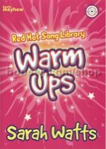 Red Hot Song Library Warm Ups watts Bk/CD