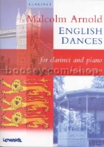 English Dances clarinet and piano