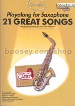 Guest Spot: 21 Great Songs - Alto Sax (Gold Edition)