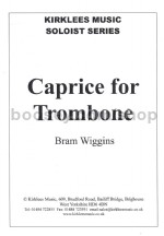Caprice for Trombone (treble clef)