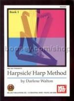 Harpsicle Harp Method Book 1 walton Bk/DVD