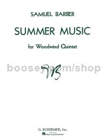 Summer Music For Woodwind Quintet Parts