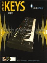 Rockschool Band Based Keys debut Bk/CD