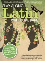Play Along Latin With A Live Band Trumpet Bk/CD